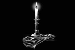 Примеры оформления: свечи