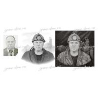 Разработка эскиза для портрета на памятник