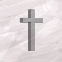 Крест гранитный четырехконечный большой