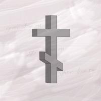 Крест гранитный шестиконечный большой